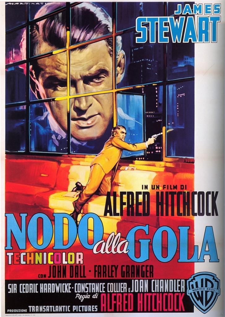Nodo alla gola (1948): Hitchcock e il piano sequenza 2