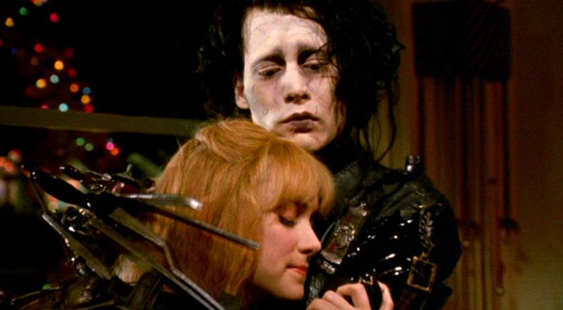 Edward mani di forbice (1990): un taglio ai pregiudizi 9