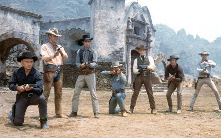 film western i magnifici sette