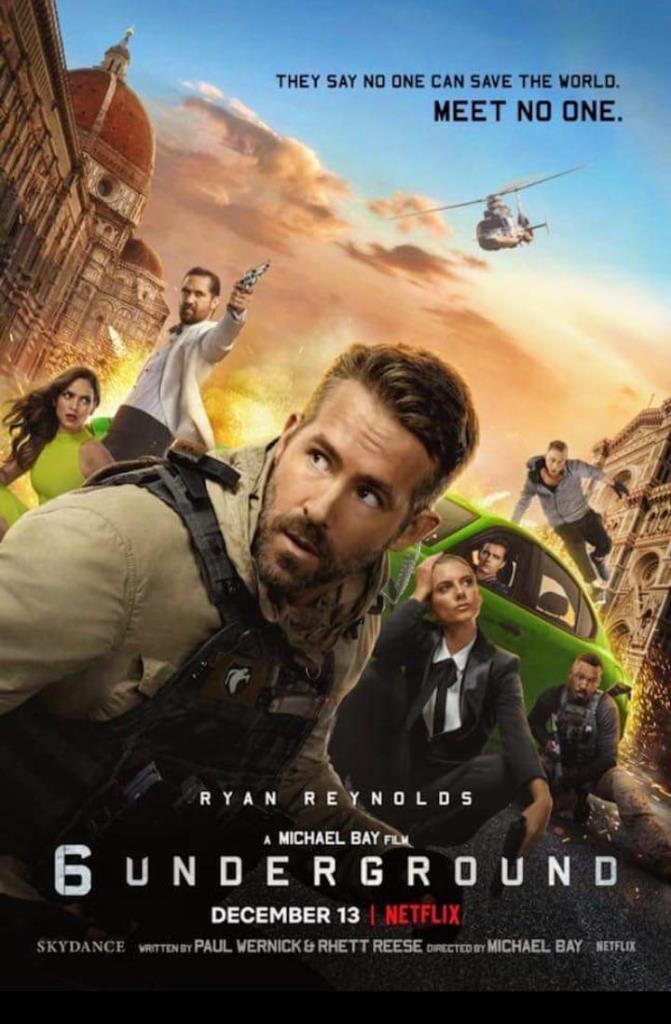 poster 6 underground