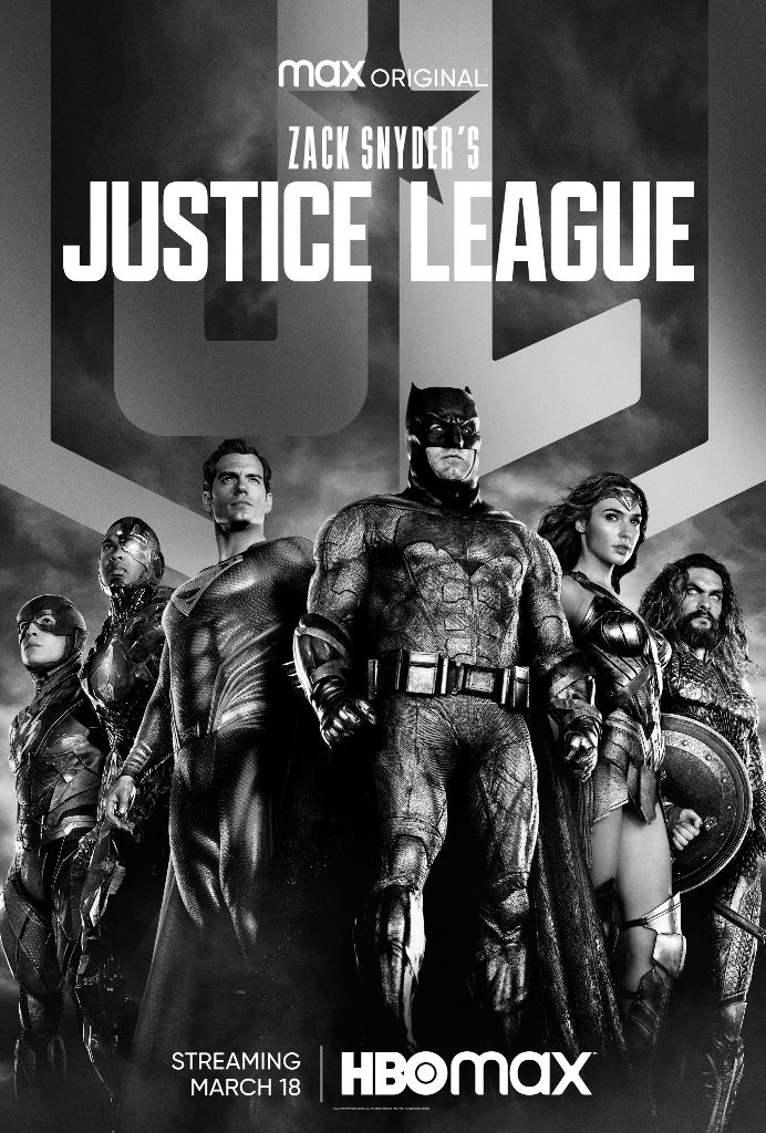 zack snyder's justice league locandina