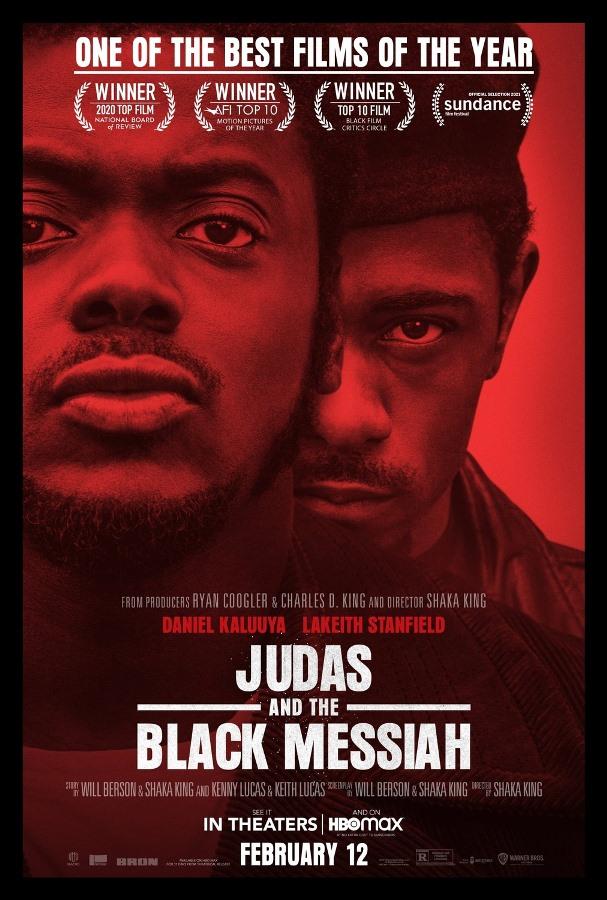 judas and the black messiah 2021 locandina