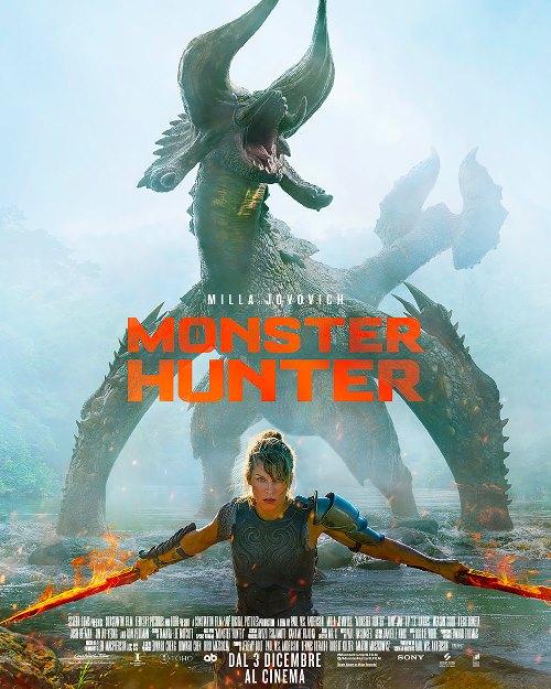 monster hunter 2020 locandina