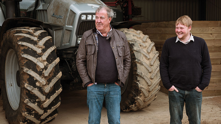 la fattoria clarkson trattore