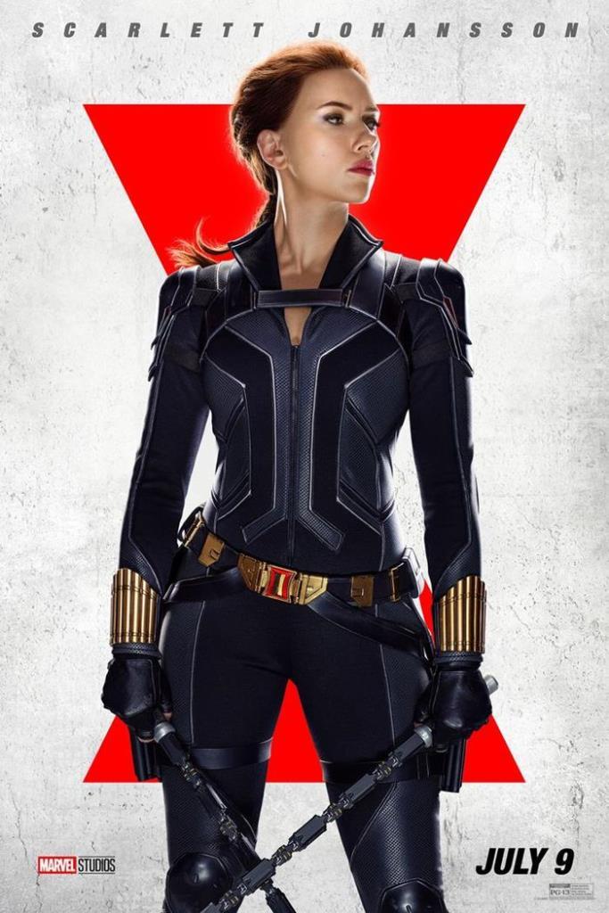 black widow 2021 locandina